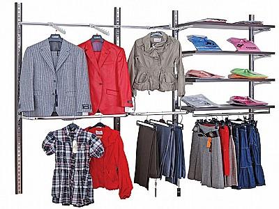 Duvara Monteli Giyim Rafları Kayseri